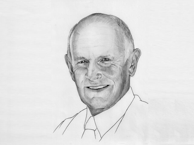 Sketch of Lance Twomey